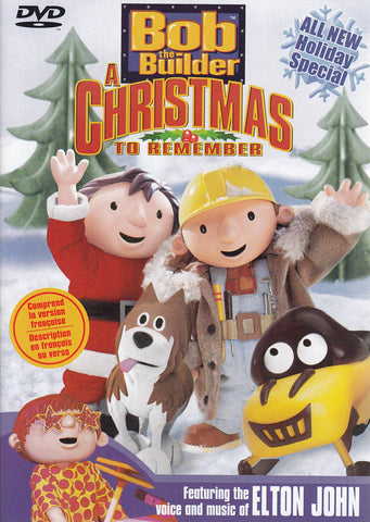 Bob The Builder - A Christmas to Remember (CA Version) DVD Movie