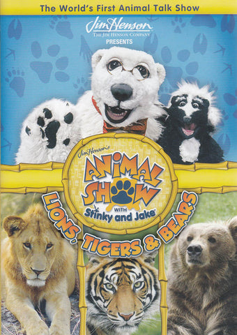 Animal Show With Stinky And Jake: Lions, Tigers And Bears (Maple) DVD Movie