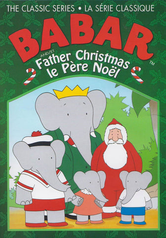 Babar and Father Christmas (Bilingual) DVD Movie
