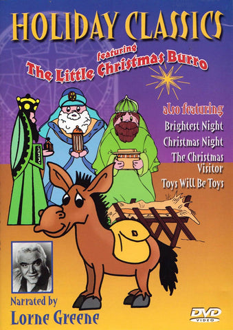 Holiday Classics featuring The Little Christmas Burro DVD Movie