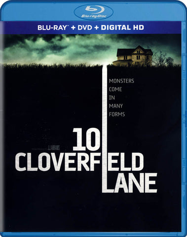 10 Cloverfield Lane (Blu-ray / DVD / Digital HD) (Blu-ray) BLU-RAY Movie