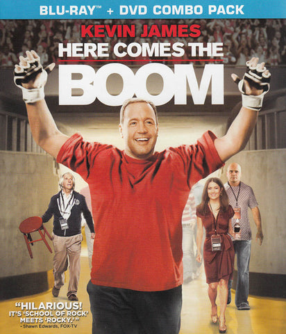 Here Comes the Boom (Blu-ray + DVD Combo Pack) (Blu-ray) BLU-RAY Movie