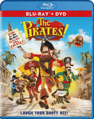 The Pirates! Band of Misfits (Blu-ray + DVD + Ultraviolet) (Blu-Ray)
