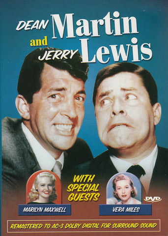 Dean Martin and Jerry Lewis with Marilyn Maxwell & Vera Miles DVD Movie