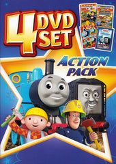 HiT Entertainment Action Pack (Fireman Sam / Bob / Thomas) (4 DVD Set)