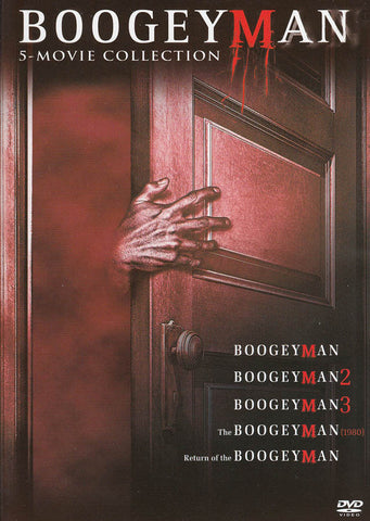 Boogeyman (2005) / Boogeyman 2 (2008) / Boogeyman 3 (2009) / Boogeyman (1980) / Return of the Boogey DVD Movie