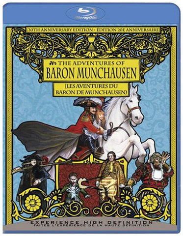The Adventures of Baron Munchausen (20th Anniversary Edition) (Bilingual) (Blu-ray) BLU-RAY Movie