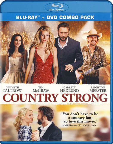 Country Strong (Blu-ray + DVD Combo) (Blu-ray) BLU-RAY Movie
