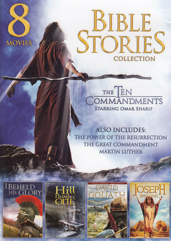 8 Movies - Family Bible Stories (Cover 2013 Edition) DVD Movie