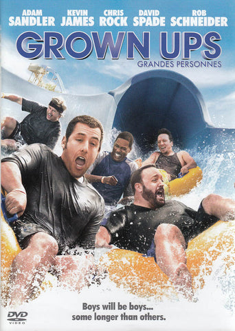 Grown Ups (Adam Sandler) (Bilingual) DVD Movie