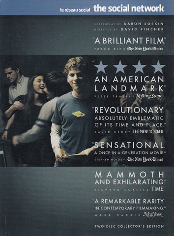 The Social Network (Two-Disc Collector s Edition) (Bilingual) DVD Movie