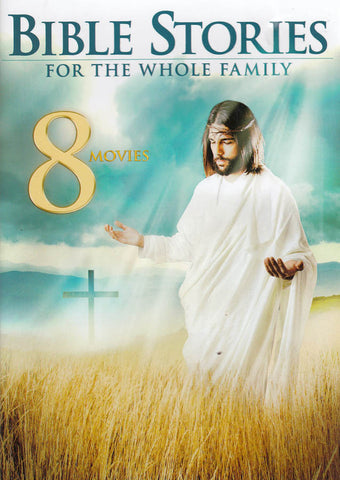8 Movies - Family Bible Stories (Cover 2014 Edition) DVD Movie