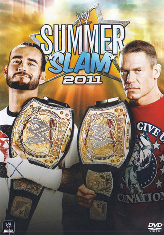 WWE - SummerSlam 2011 DVD Movie