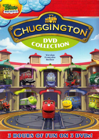 Chuggington DVD Collection (Boxset) (Bilingual) DVD Movie