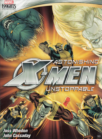 Astonishing X-Men: Unstoppable (Marvel Knights) DVD Movie