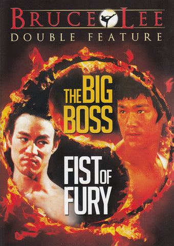 Bruce Lee (The Big Boss / Fist Of Fury) (Double Feature) DVD Movie