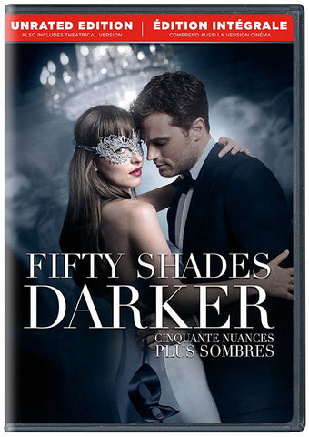 Fifty Shades Darker (Unrated Edition) (Bilingual) DVD Movie