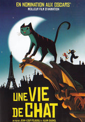 Une Vie De Chat (French Cover)