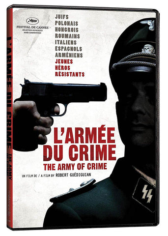 L'armee Du Crime (The Army Of The Crime) (Bilingual) DVD Movie