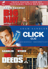 Big Daddy / Click / Mr. Deeds (Triple Feature) (Bilingual)