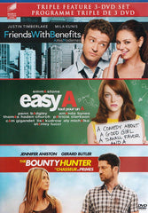 Friends With Benefits / Easy A / The Bounty Hunter (Triple Feature) (Bilingual)