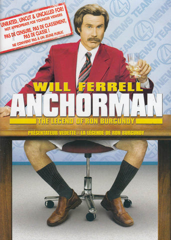 Anchorman - The Legend of Ron Burgundy (Bilingual) DVD Movie
