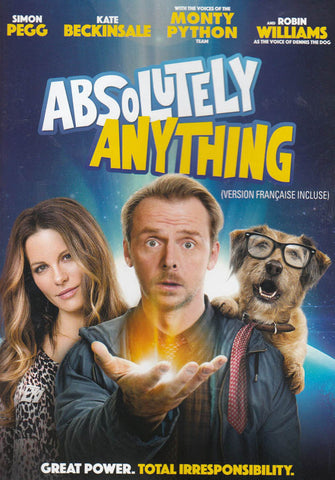 Absolutely Anything (Bilingual) DVD Movie