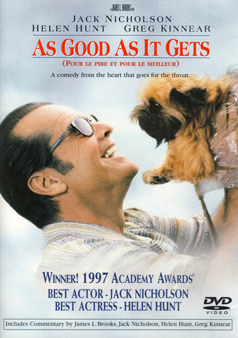 As Good As It Gets (Bilingual) DVD Movie
