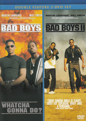 Bad Boys / Bad Boys II (Double Feature) (Blue Cover) DVD Movie