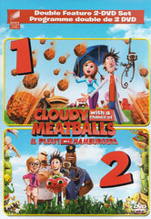 Cloudy with a Chance of Meatballs 1 & 2 (Double Feature 2-DVD Set) (Bilingual)