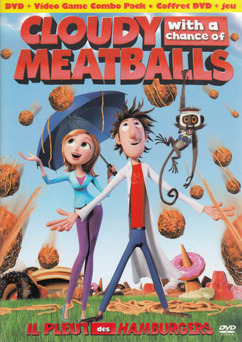 Cloudy With a Chance of Meatballs (DVD + Video Game Combo Pack) (Bilingual) DVD Movie
