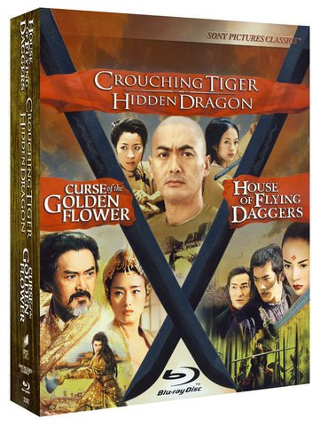 Crouching Tiger Hidden Dragon/Curse of the Golden Flower/House of Flying Daggers (Trilogy) (Blu-ray) BLU-RAY Movie