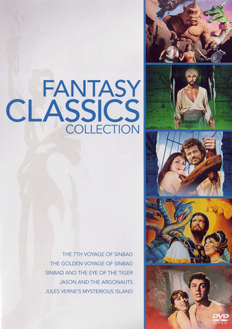 Fantasy Classics Collection (7th Voyage of Sinbad ..... Jules Verne's Mysterious Island) DVD Movie