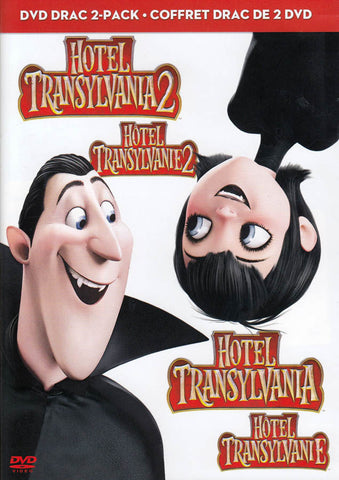 Hotel Transylvania 2 / Hotel Transylvania (DVD Drac 2 Pack) (Bilingual) DVD Movie
