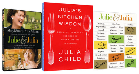 Julie and Julia (with Julia s Kitchen Wisdom Book) (Bilingual) (Boxset) DVD Movie