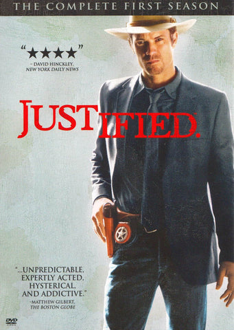 Justified - The Complete (1st) First Season (Boxset) DVD Movie