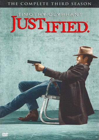 Justified - The Complete (3rd) Third Season (Boxset) DVD Movie