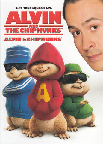 Alvin and the Chipmunks (Bilingual) DVD Movie