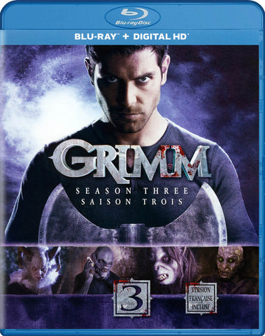 Grimm: Season 3 (Blu-ray + Digital HD) (Bilingual) (Blu-ray) BLU-RAY Movie