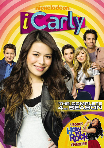 iCarly - The Complete (4th) Fourth Season DVD Movie
