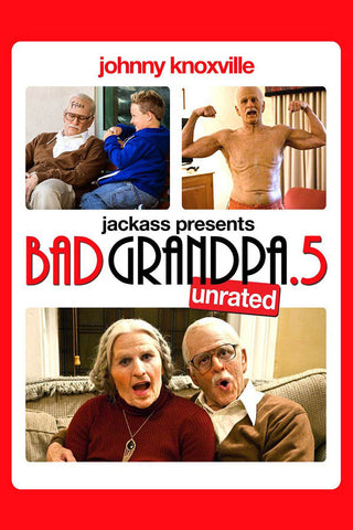 Jackass Presents - Bad Grandpa .5 (Unrated) DVD Movie