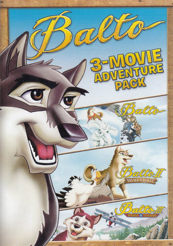 Balto (3-Movie Adventure Pack) DVD Movie