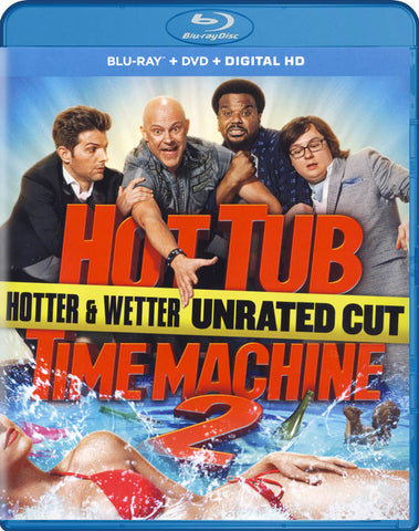 Hot Tub Time Machine 2 (Blu-ray + DVD + Digital HD) (Blu-ray) BLU-RAY Movie