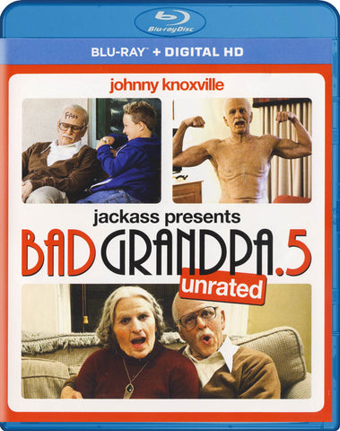 Jackass Presents - Bad Grandpa .5 (Unrated) (Blu-ray + Digital HD) (Blu-ray) BLU-RAY Movie