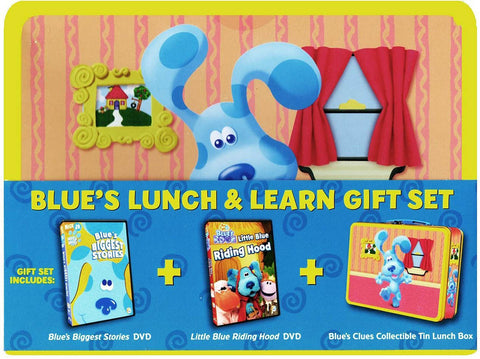 Blue's Clues - Blue's Lunch & Learn Gift Set (Boxset) DVD Movie