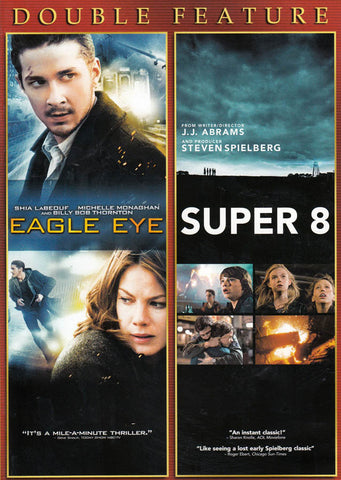 Eagle Eye / Super 8 (Double Feature) DVD Movie