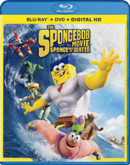 The SpongeBob Movie - Sponge Out Of Water (Blu-ray + DVD + Digital HD) (Blu-ray)