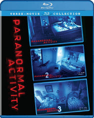 Paranormal Activity 1, 2 & 3 (Three-Movie Collection) (Blu-ray)