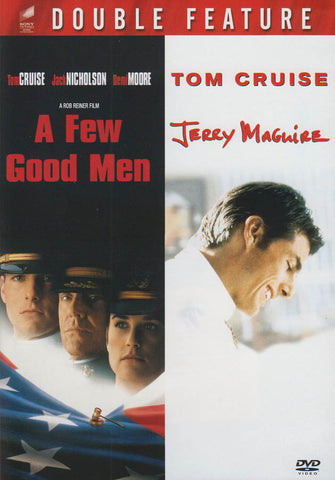 A Few Good Men/Jerry Maguire (Double Feature) (Red Border) DVD Movie