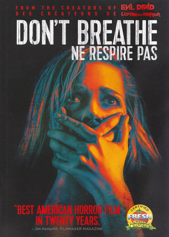 Don't Breathe (Bilingual) DVD Movie